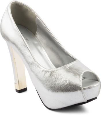 Wellworth Women Silver Heels