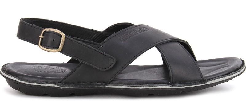 Woodland Men Black Sports Sandals SNDEJR9MGECY42HB