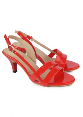 Urban Woods Red Women Red Heels