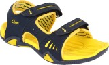Campus Men Navy::Yel Sandals