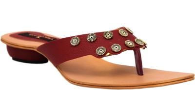 Trilokani Women Maroon Heels
