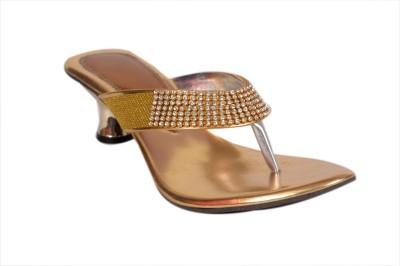 Studio 9 Mash Burmi Women Gold Heels