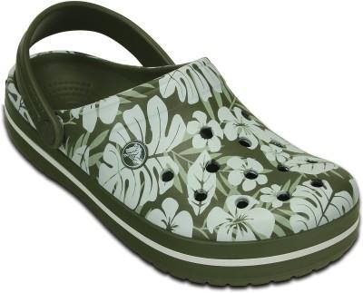 Crocs Women Green Clogs
