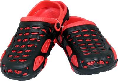 Pu-asmaa Girls, Boys Red, Black Sandals