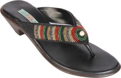Awssm Women Black Heels