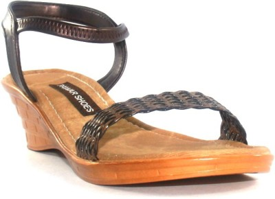 Pawar Women Brown Wedges