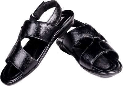 First Expression Men Black Sandals