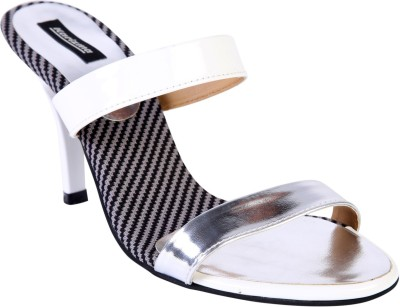 karizma shoes Women White Heels