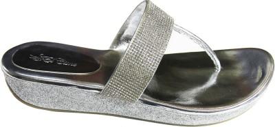 El Cisne Women Silver Heels