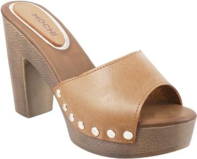 Mochi Women 23,Tan Heels at flipkart