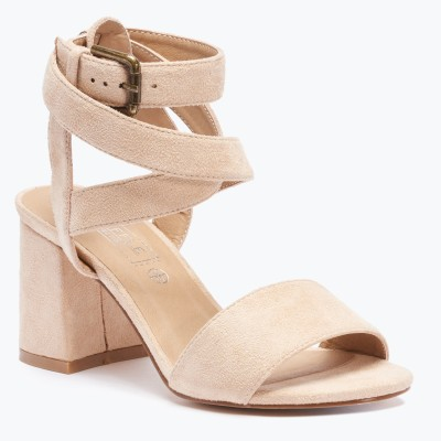 Truffle Collection Women Beige Heels