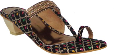 Liza Women Black Heels