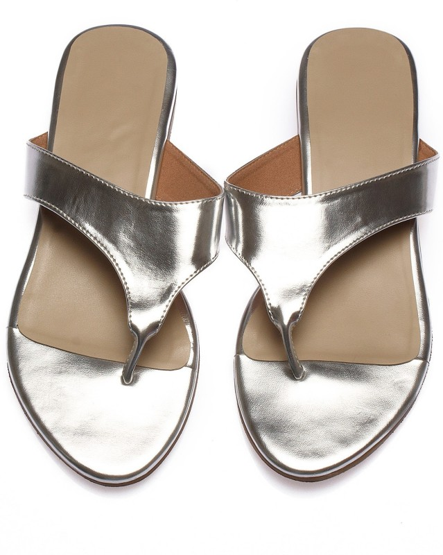 ThelabellifeCom Women Silver Flats
