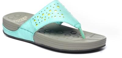 Pavers England Women Green Sandals