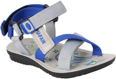 11e Boys Blue, Grey Sandals