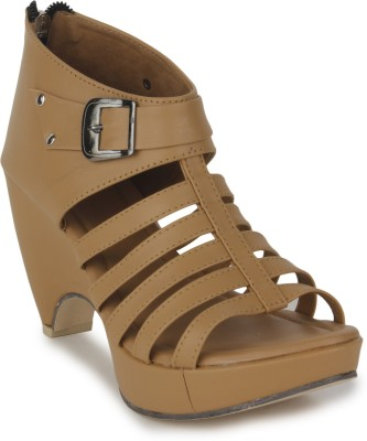 Sapatos Women Brown Wedges