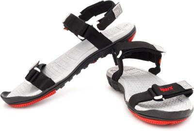 Sparx Men Black, Grey Sandals