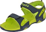 Poddar Men Green Sandals