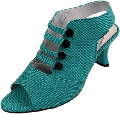 Style Her Women Green Heels