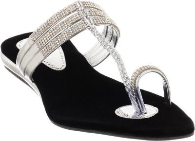 Brandvilla Women Black Flats