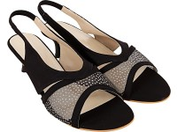 Royal Collection Women Black Heels