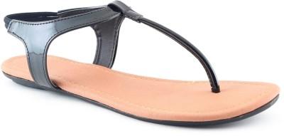 Cenizas JU14 Women Black Flats