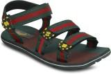 Gisole Men Green Sandals