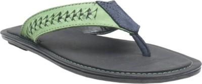 Jack Don Men Green, Blue Sandals