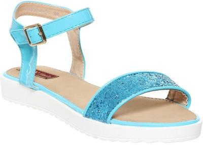 Flat n Heels Women Blue Flats