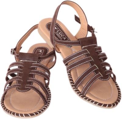 Luca Fashion Women Brown Flats
