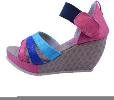Anira Fashion Women Multicolor Wedges