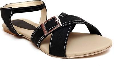 Zohra Collection Women Black Flats