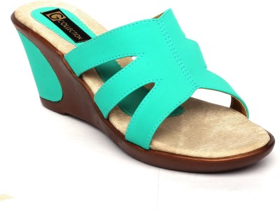 Gcollection Women Green Wedges