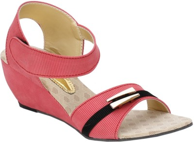 Collection13 Women Pink Wedges