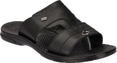 Pu Lite Men Black Sandals