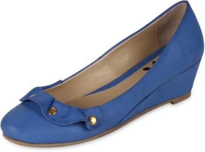 Amica Slexia Women Blue Wedges
