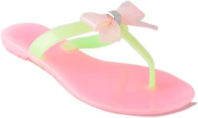 Vanessa Women Pink Flats