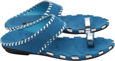 Regal Shoe Women Blue Wedges