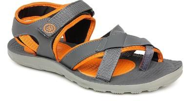 Walkline Men Grey Sports Sandals
