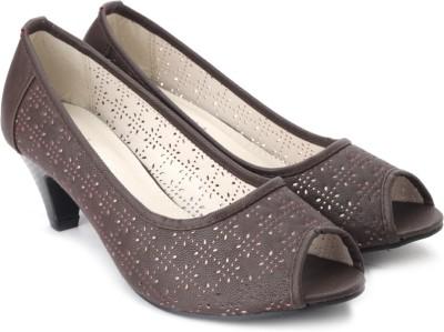 Solovoga Baiole Women Brown Heels