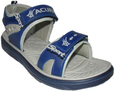 Nitin Footwear Men Blue, Grey Sandals
