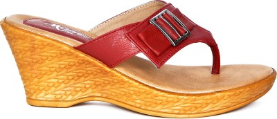 Marie Comfort Girls Red Sandals