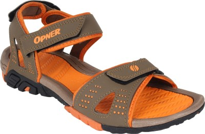 Super Matteress Men Orange Sandals