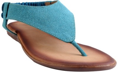 GLAMWALK Women Blue Flats