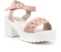 Shuberry Women Pink Heels