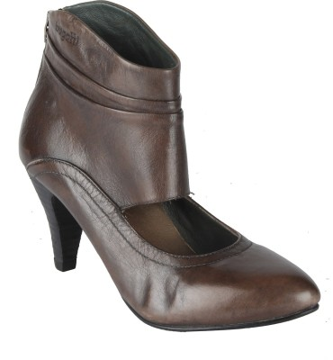 Salt N Pepper 417 Larrissa Grey Women Grey Heels