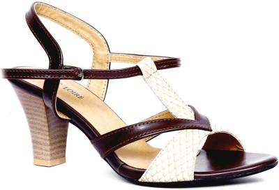 Marc Loire Women Brown Heels