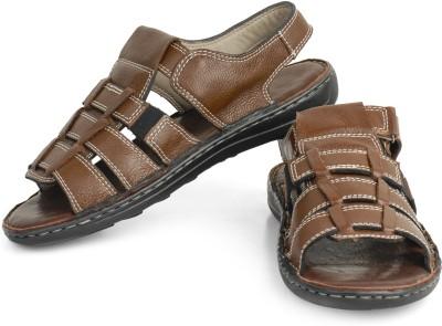 Mister Classy Men Brown Sandals
