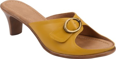 Chicopee Women Yellow Heels