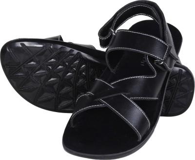 Emosis Men Black Sandals